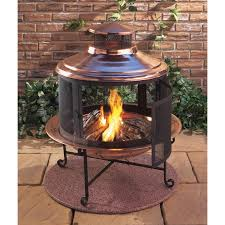 Outdoor Brick Fireplace Grill by Lit Your Outdoor Space Nuance With Chiminea Fire Pit For Stylish