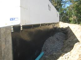 Interior Basement Drainage System Interior Basement Waterproofing Membrane In Exterior Basement