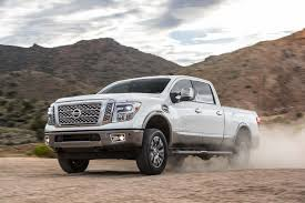 cummins nissan lifted 2016 nissan titan xd v 8 platinum reserve first test review