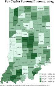 Map Of Ohio And Indiana by Thematic Maps Stats Indiana