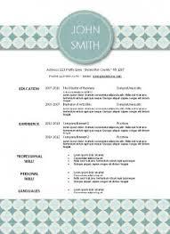 10 best creative resume templates images on pinterest creative