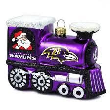 ravens blown glass ornament the baltimore sports apparel