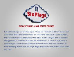 Six Flags Friends Six Flags U2014 W Ll Deutsch Cw