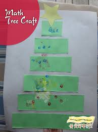 christmas tree craft math activity how to run a home daycare
