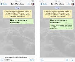 hola imagenes whatsapp cómo escribir en negrita cursiva y subrayado en whatsapp