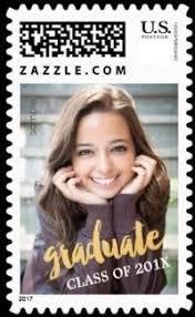graduation invitation postage personalized graduation sts