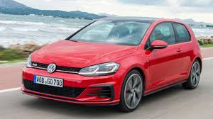 red volkswagen golf vw golf gti review facelifted hatch icon driven top gear