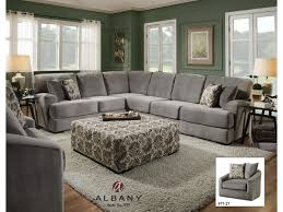 Transitional Style Living Room Furniture Albany 977 Transitional Sectional Sofa Furniture And