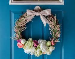 springtime wreaths springtime wreaths etsy