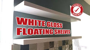 Building Floating Shelves by Making White Gloss Floating Shelves Using Only Mdf Face Grain 58