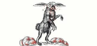 quick zombie rabbit sketch for bryanna by brendanmockridge71 on