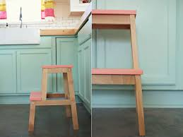ikea bekvam step ladder gorgeous kitchen our new step stools ikea hack and bekvam of stool