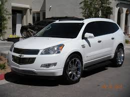 2009 chevrolet traverse information and photos zombiedrive