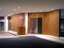 Deco Wall Panels by Innovative Wood Interior Walls Paneling In Contemporary Office