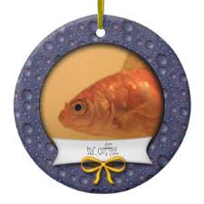 gold fish ornaments keepsake ornaments zazzle