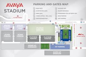 Mls Teams Map Avaya Stadium Map San Jose Earthquakes