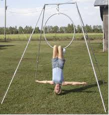 Indoor Hammock With Stand Indoor Rigging Aerial Yoga Stand Trapezerigging Com