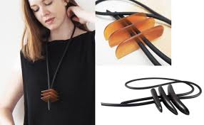 contemporary jewelry designers wood horn leather jewelry designers a contemporary style the