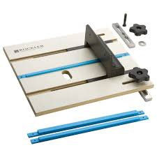 rockler router table box joint jig amazon com