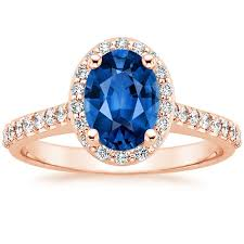 diamond rings sapphires images Sapphire fancy halo diamond ring with side stones 2 5 ct tw in jpg