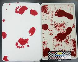 Bloody Shower Curtain And Bath Mat Bloody Bath Mat Amazon Ca Home Kitchen