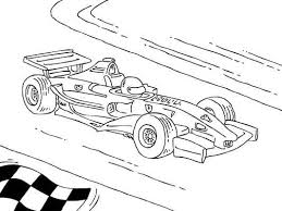 formula 1 racing car coloring free car coloring