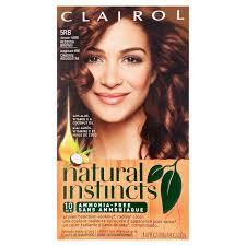 reddish brown hair color clairol natural instincts 5rb 16rg sedona sunset reddish brown