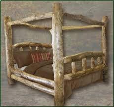 Wood Log Bed Frame Bed Frame Wooden Log Bed Frames Rgrhs Wooden Log Bed Frames Bed