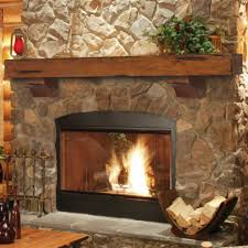 interesting home indoor fireplace decor feat stone veneer wall
