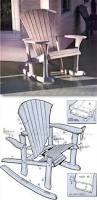 Outdoor Wooden Chairs Plans Best 25 Rocking Chair Plans Ideas On Pinterest Adirondack