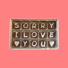 Sad Love Letters To Him I Am Sorry Gift Her Him Apology Gift Boyfriend Girlfriend
