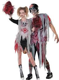 Halloween Costumes Cheerleaders Zombie Cheerleader Clipart Clipartxtras