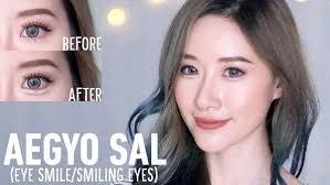 tutorial make up mata sipit ala korea inilah cara memakai riasan mata ala korea dengan mudah