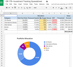 Financial Planning Worksheet An Awesome And Free Investment Tracking Spreadsheet