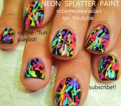 35 crazy and cool nail art designs intended for crazy nail