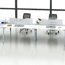 White Gloss Office Furniture by Desk White Workstation Desk Luxor White Gloss Home Office Desk
