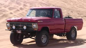 old monster truck videos the desert monster is unleashed old 1972 ford f 250 pickup truck