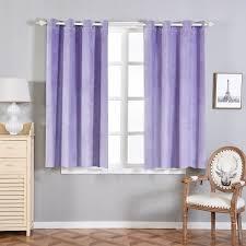 Premium Curtains Blackout Curtains Premium Velvet 52 X64 Lavender Pack Of 2