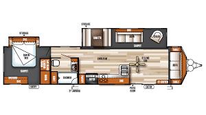 Rockwood Roo Floor Plans 2017 Forest River Salem Villa Classic 39fden Model