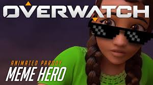 An Hero Meme - overwatch animated short meme hero youtube