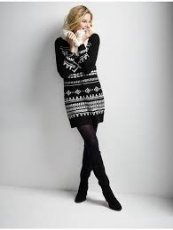 fair isle sweater dress navy s fair isle sweater dress my closet