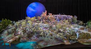 Animal World Map by Park Map For Avatar Land At Animal Kingdom The Dvc Boards At