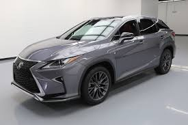 lexus rx used houston used 2016 lexus rx 350 for sale 47 030 vroom