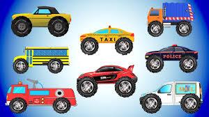 monster truck videos for toddlers street monster trucks learning vehicles video for kids car