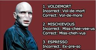 Pronounciation Of Meme - beautiful correct pronunciation of meme voldemort and 24 other