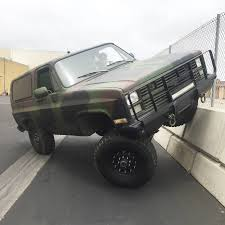K5 Chevy Blazer Mud Truck - bangshift com this 1984 m1009 military blazer is how chevrolet