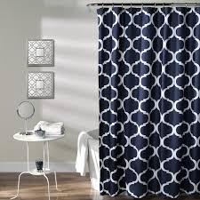Lush Decor Ruffle Shower Curtain by Coffee Tables Teal Shower Curtain Nautical Stripe Shower Curtain