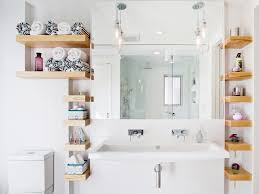 Floating Shelves For Bathroom by Bathroom Innovative Bathroom Storage Designs Floating Shelves