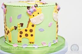 giraffe cake giraffe new baby cake bearkery bakery