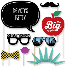 photobooth props new york 20 photo booth props kit bigdotofhappiness